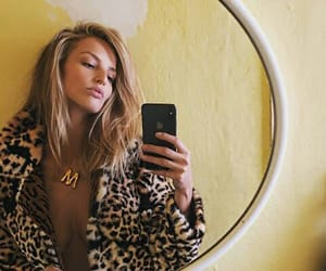 animal print, coat, and cold image