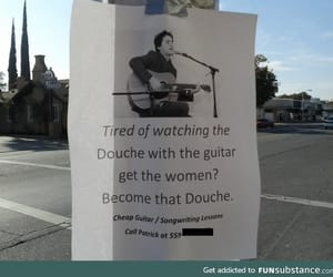 awesome, douche, and funny image
