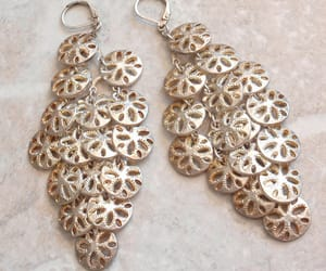 vintage earrings, summer jewelry, and shoulder dusters image