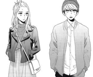 black&white, manga, and manga girl image
