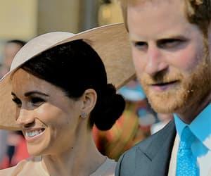 couple, meghan markle, and prince harry image