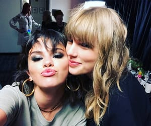 selena gomez, Taylor Swift, and selfie image