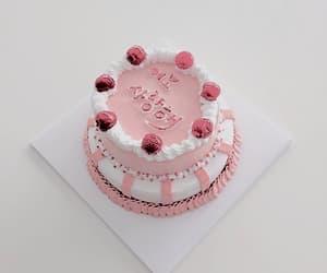 cake, fake, and pink image