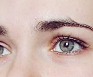eyes, green, and grey image