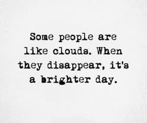 clouds, quotes, and people image