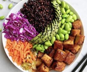 fitness, vegan, and vegetarian image