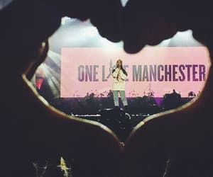 ariana grande, one love manchester, and manchester image