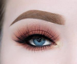 eye, eyebrow, and eyelash image