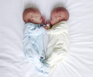 babies, siblings, and twins image