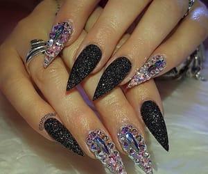 gel, nails, and diamant image