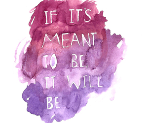 quote, text, and purple image