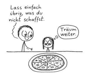 hunger, abendessen, and pizza image