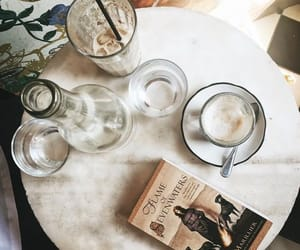 books, cafe, and classy image