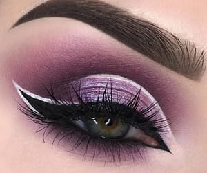 extra, eyes, and makeup image
