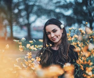 flowers, merrell twins, and new york image