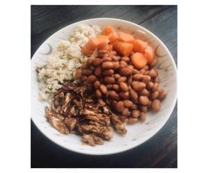 beans, carrot, and lunch image