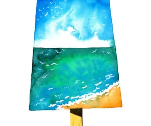 acrylic, art, and popsicle image