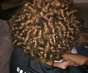 curly hair, natural hair, and twists image