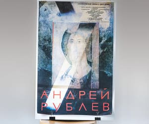etsy, poster in russian, and andrei tarkovsky image