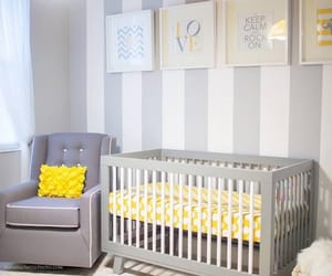 yellow, baby, and home image