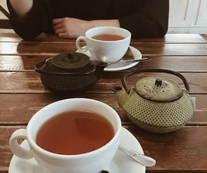 afternoon tea, coffee, and lady image