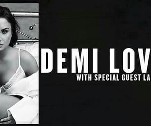 demi lovato, tour, and 2018 image