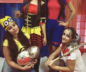 costumes, girls, and pirate image
