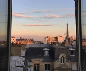 paris, view, and france image