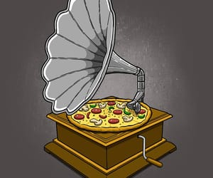 pizza, funny pictures, and humor image