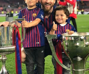messi, family, and fcb image