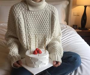 aesthetic, cake, and beige image