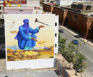 art, street art, and rabat image
