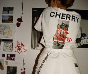 cherry, fashion, and shirt image