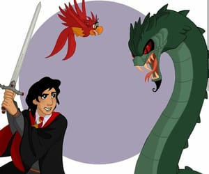 disney, harry potter, and hogwarts image