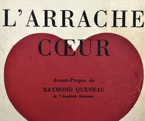 french, heart, and inspiration image