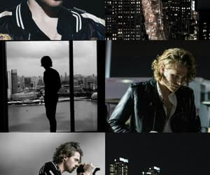 background, wallpaper, and luke hemmings image