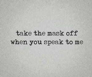 quotes, mask, and words image