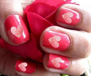 glitter, hearts, and cute image