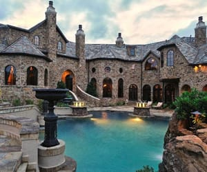 luxury, house, and mansion image