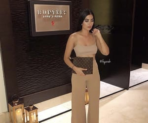 louis vuitton lv, outfit clothes, and make up makeup image
