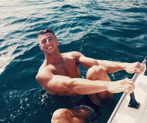 exercise, fitness, and hot guys image