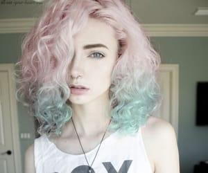 fashion, girl, and pastel hair image
