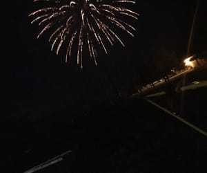 aesthetic, fireworks, and photography image