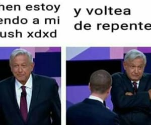 crush, elecciones, and meme image