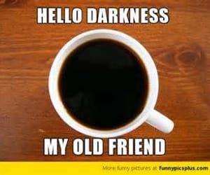 coffee, meme, and ☕ image