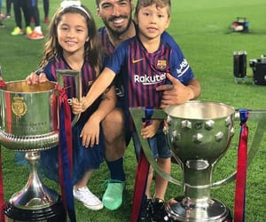 Barcelona, children, and messi image