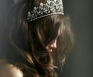 crown, princess, and hair image