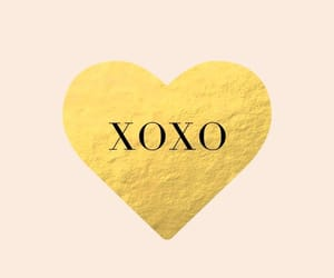 gold, heart, and wallpaper image