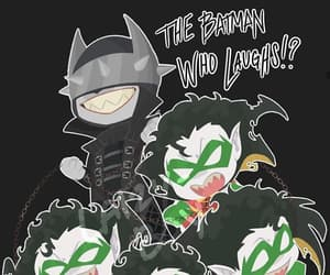 DC, the batman who laughs, and robin image