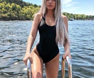 blonde, violet, and alissa image
